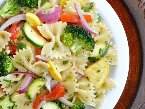 bow-tie salad