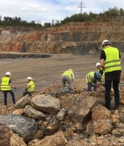 Steinbruch - Geologie-Exkursion