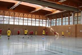 Spiel gegen Gymnasium Höhenkirchen