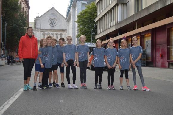 Unsere 2km-LäuferInnen
