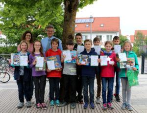 Viele Sieger beim Wettbewerb Känguru der Mathematik