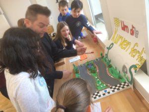 Kunstprojekt: Spiele-AutorInnen in der Unterstufe