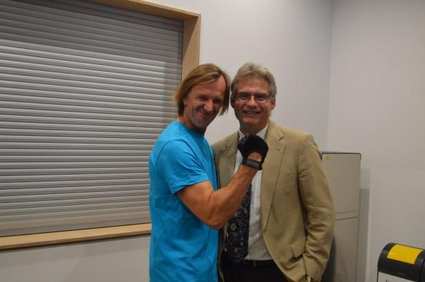 Herr Martini und Wolfgang Leikermoser