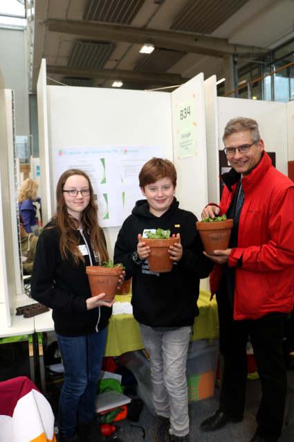 Drei Preise für das ISGY – unsere erste Teilnahme am Schüler Experimentieren/Jugend forscht Regionalwettbewerb!