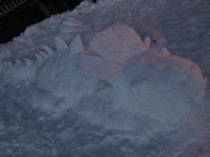 Die Gewinner der Schneefiguren-Challenge!