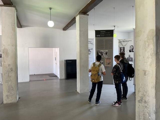 Exkursion der 9. Klassen in die Gedenkstätte Dachau