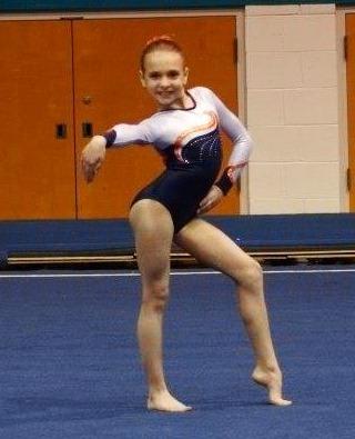 hannah moon foothills gymnastics gymnast