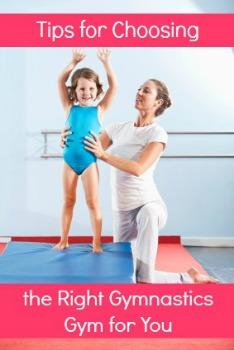 tips for choosing gymnastics gym