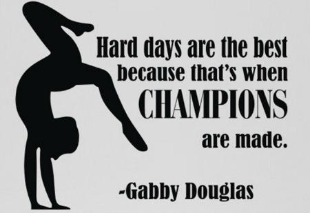 gabby douglas gymnastics quote