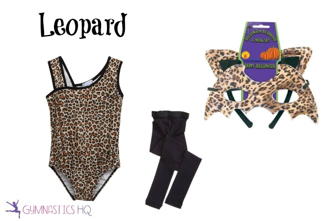 leopard costume with leotard