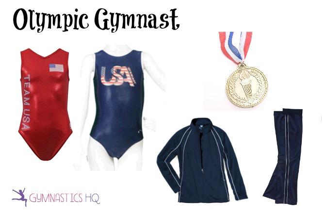 olympic gymnast halloween costume