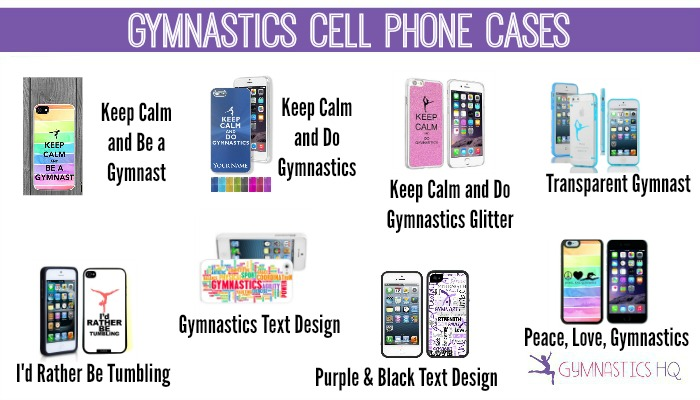 gymnastics cell phone cases