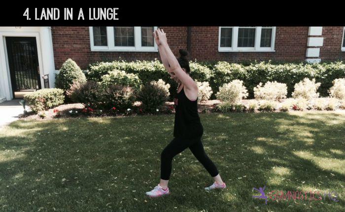 how to do a cartwheel step 4