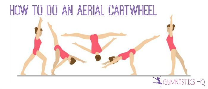 how to do an aerial cartwheel