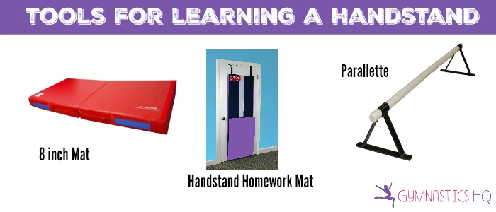tools for learning a handstand