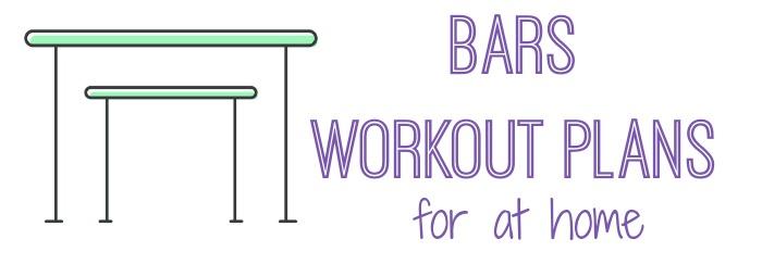 gymnastics bars workout plans