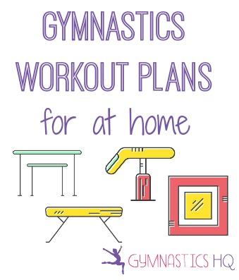 gymnastics workout plans