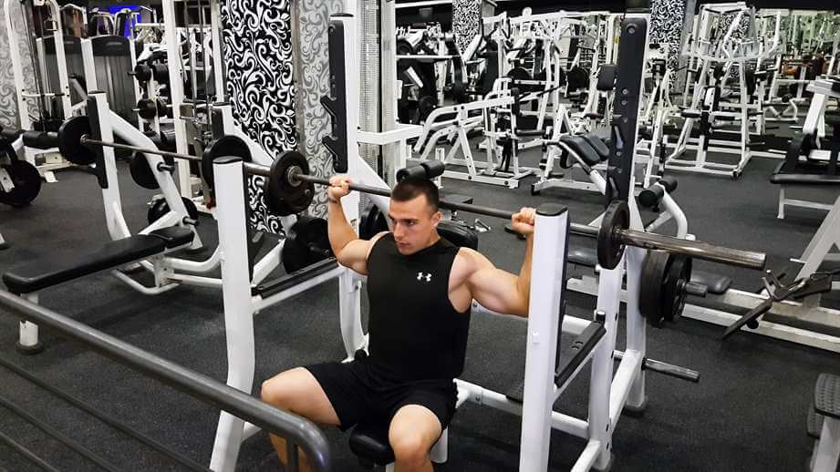 Back Seated Military Press