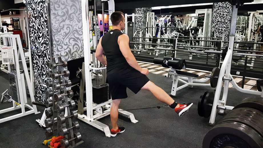 Cable Hip Abductions