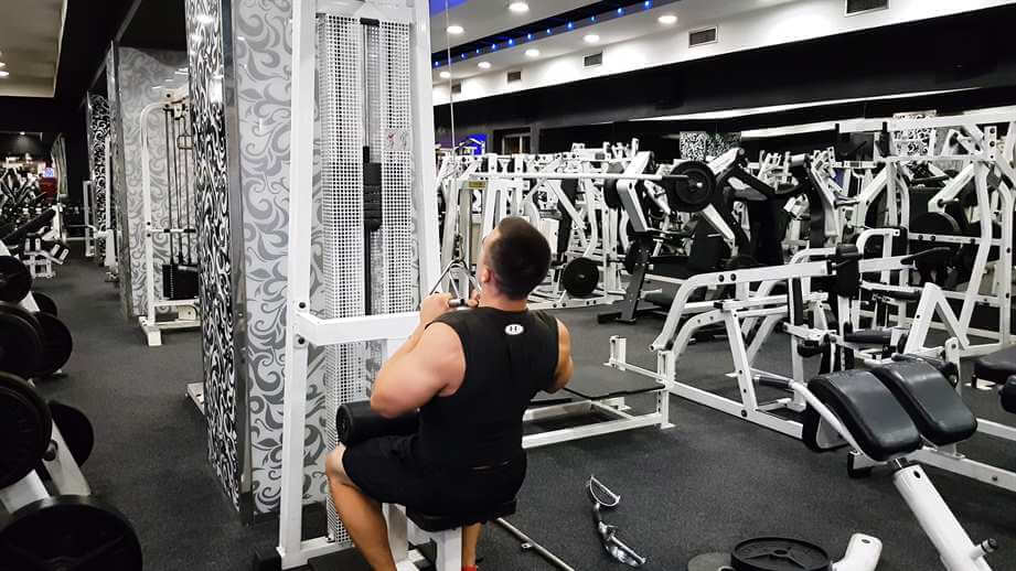 V-Bar Lat Pulldowns
