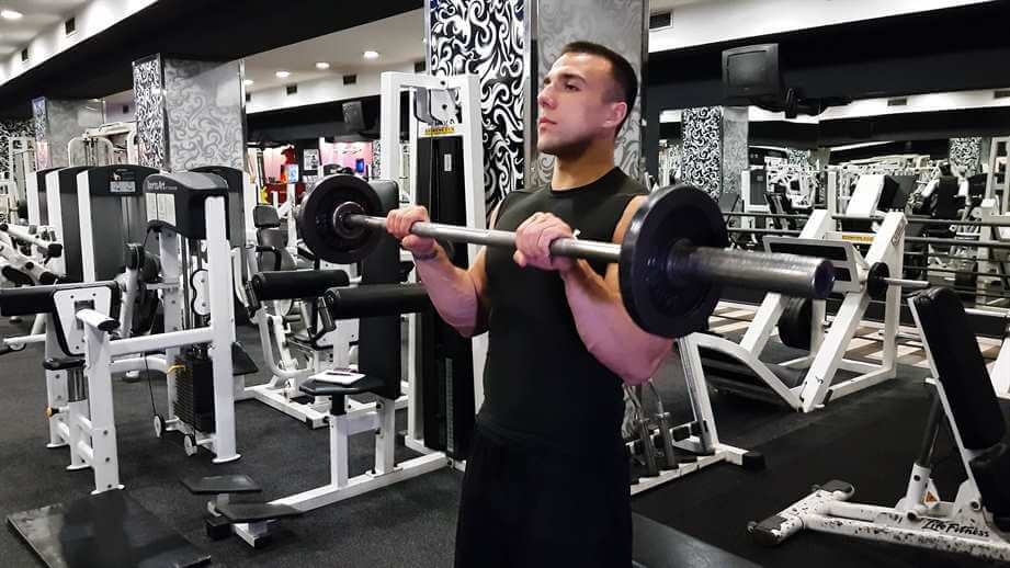 Reverse Grip Barbell Curl