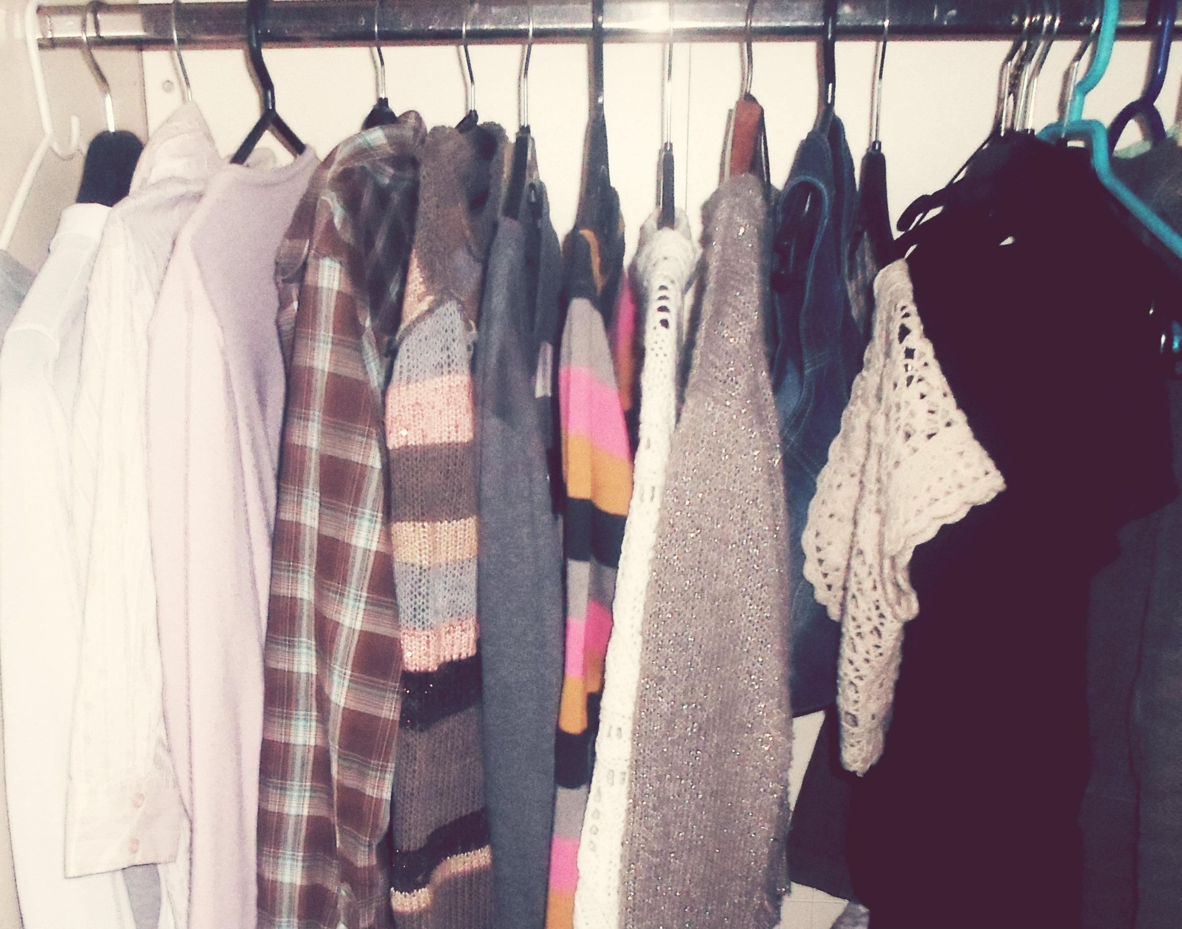 Παλιά ρούχα…