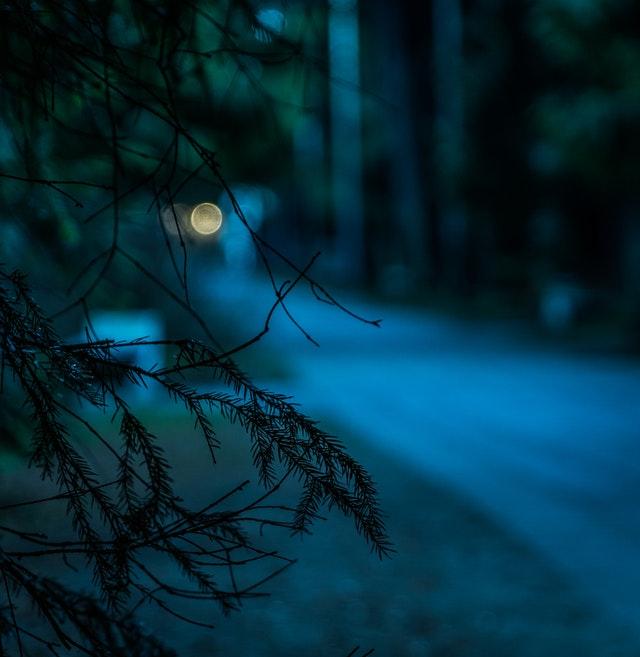 Όταν η νύχτα έπεφτε