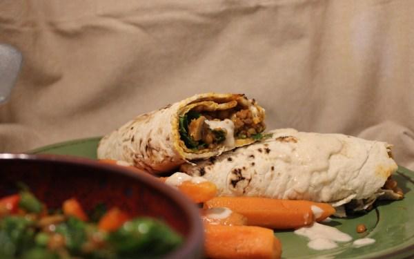 Νηστίσιμο Burrito με… ότι απέμεινε της διατροφολόγου Στυλιανοπούλου Γεωργίας