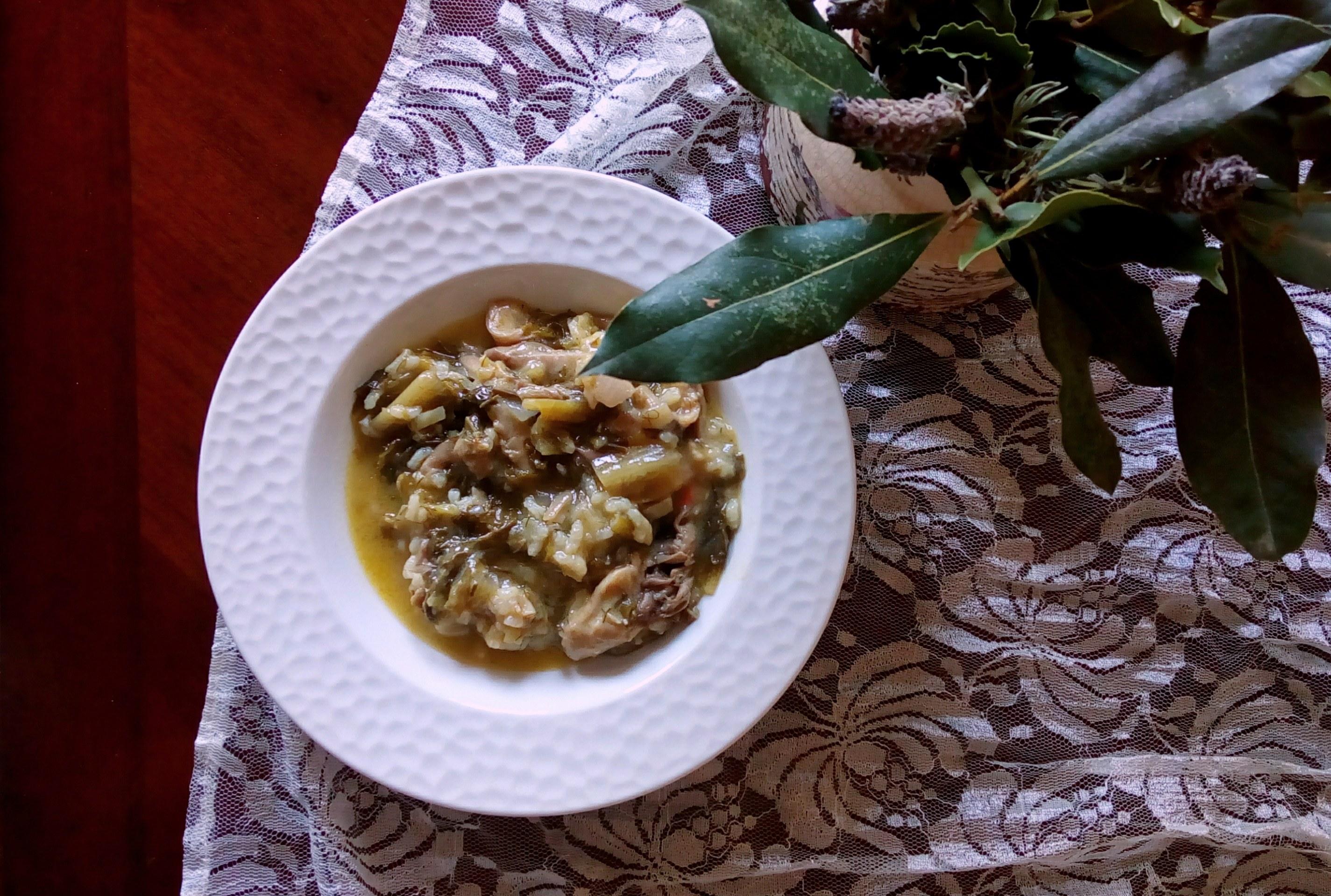 Χορτοφαγική Μαγειρίτσα
