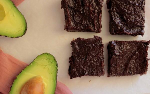 Σοκολατένια brownies με αβοκάντο