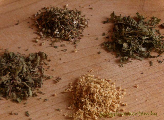 Megfázás elleni teakeverék, meghűlés, nátha