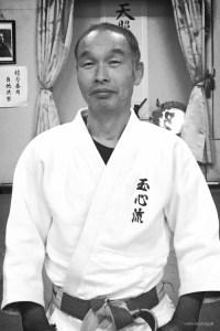 Washizu Terumi Sensei kneeling