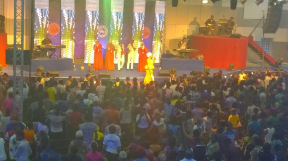Yetunde Are at RCCG's 73 Hours 2015 01