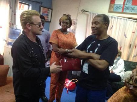 Bono in Nigeria Gistyinka