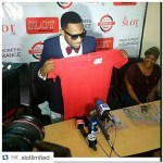Breaking: African's finest entertainer D'banj Receives Brand New  porches Car as He Become Brand Ambassador for SLOT