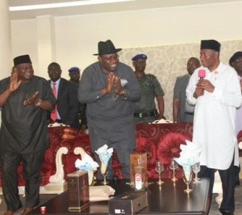 Former President Jonathan Plead for Vote:  PDP is Ijaw Party and If Seriaki Dickson Did Not Win, APC will Laugh at me and My Wife Says Former President Goodluck Jonathan