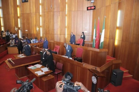 Senator Bukola Saraki Back to Work 01