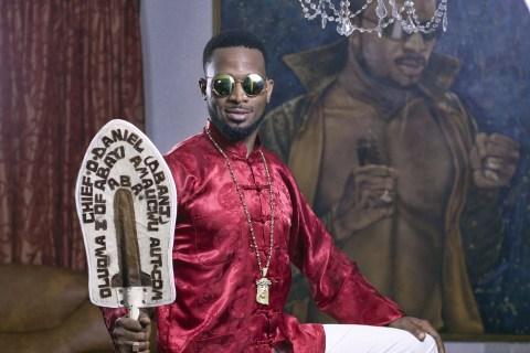 D'banj Poses at his Lekki Home in Lagos (Photographer: Paul Odijie/Bloomberg)