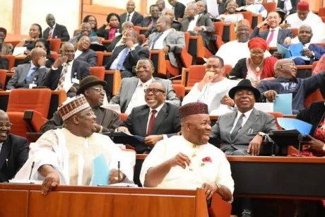 Senate screens ministerial nominees on October 13, 2015 (Photo Credit: Twitter:)