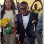 Photos: Music Executive Ubi Franklin & Lilian Esoro Weds Today at Registry