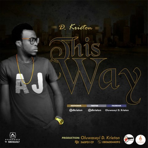 D.Krieton -- This Way Cover Art