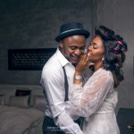 Banky W, Osas Ighodaro, Dr Sid, Gbenro Ajibade, Ebuka Obi-Uchendu, Annie Idibia, Sound Sultan, others at Ubi Franklin and Lilian Esoro White Wedding in Lagos