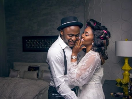 Ubi Franklin & Lilian Esoro Wedding Photos