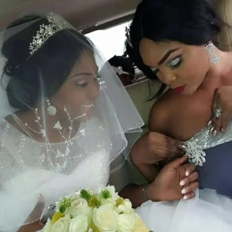 Ubi Franklin & Lilian Esoro White Wedding Photos 02