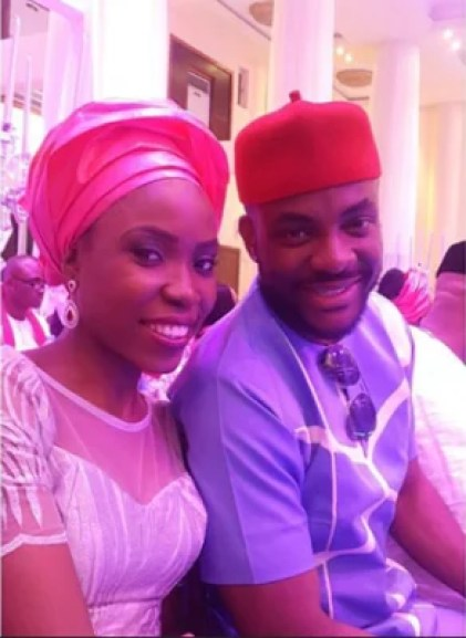 Ubi Franklin & Lilian Esoro White Wedding Photos 14