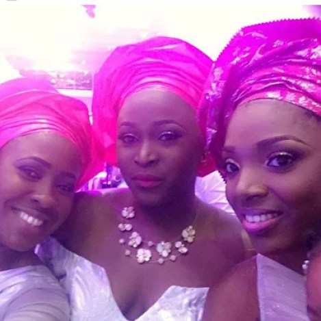Ubi Franklin & Lilian Esoro White Wedding Photos 23