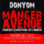 "Everywhere is Red! DonYom Presents Christmas Concert & Album Launch Tagged "" Manger Avenue """
