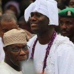 Oba Adeyeye Enitan Ogunwusi Crown as New Ooni of Ife