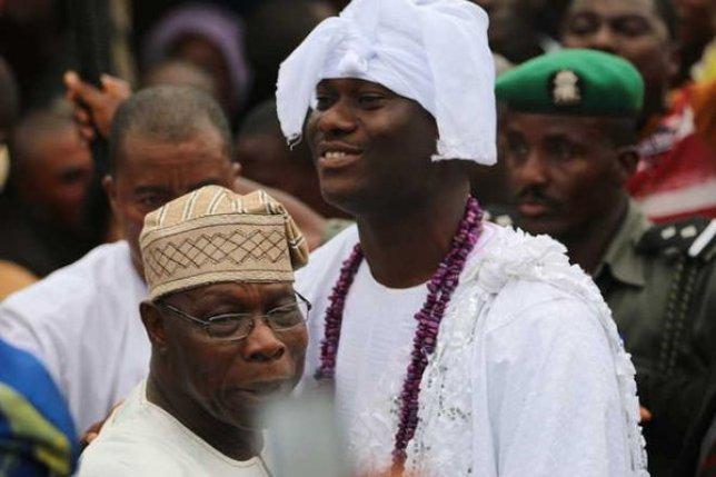 Olusegun Obasanjo and Ooni of Ife