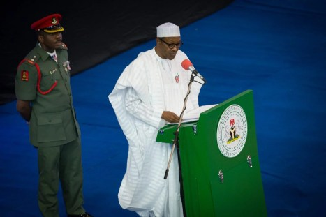 President Buhari Delivering Powerful Anti-Corruption Keynote Address